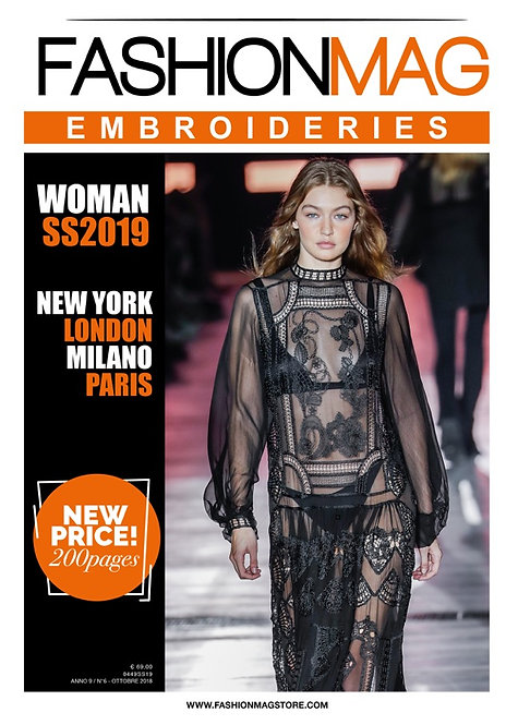 FASHIONMAG EMBROIDERIES WOMAN SS19