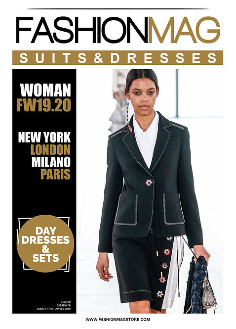 FASHIONMAG SUITS&DRESSES WOMAN FW1920