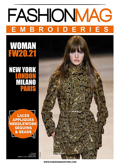 FASHIONMAG EMBROIDERIES WOMAN FW 20/21