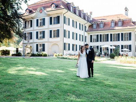 Freie Trauung im Schloss Hünigen - Sara & Sandro