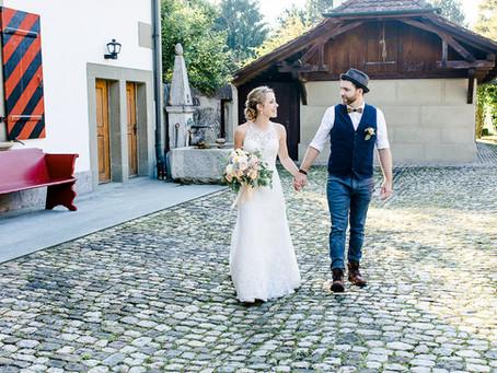 Hochzeit im Stufenbau Ittigen - Katja & Dan