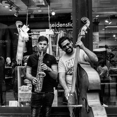 Strassenmusiker Bern