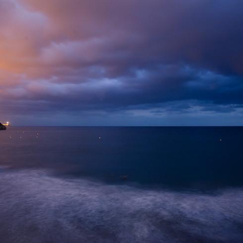 Tarragona zur Blauen Stunde