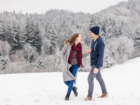 Im Winter Wonderland mit Lara & Dominik