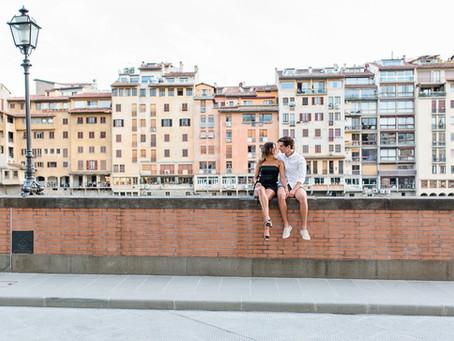 Paarshooting im malerischen Florenz