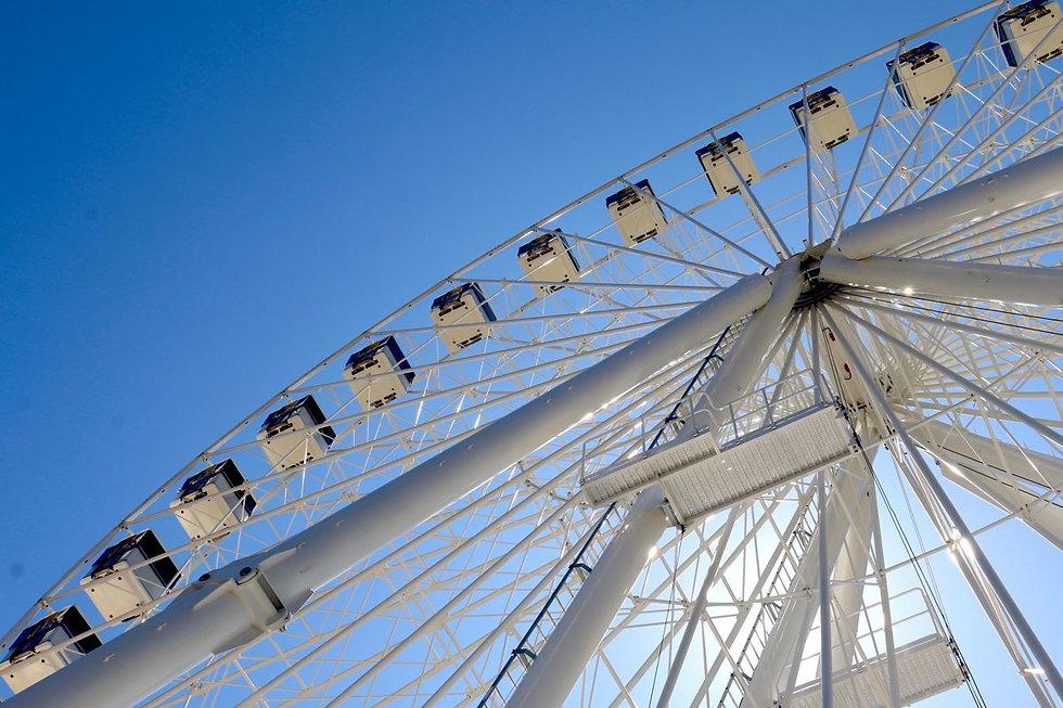 littlehampton giant wheel ferris wheel for observation