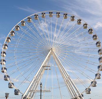 big wheel Yarmouth seafront