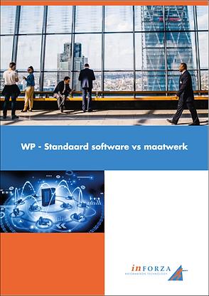 Standaard Software vs Maatwerk Whitepape