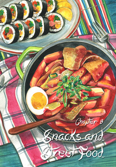 Chapter cover from Cook Korean!: A Comic Book With Recipes