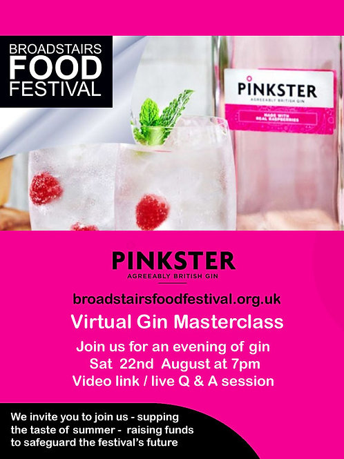 Virtual Gin Tasting - pack for two