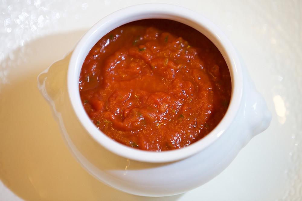 Tomato sauce on startblog