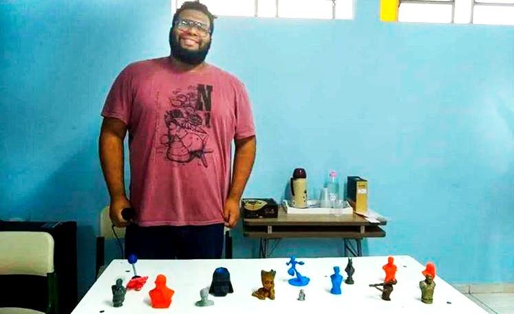 Lucas Lima presents his 3D modeling at startblog