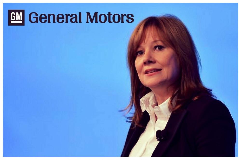 (Imagem/foto/divulgação) Diretora Executiva da GM: Mary Barra