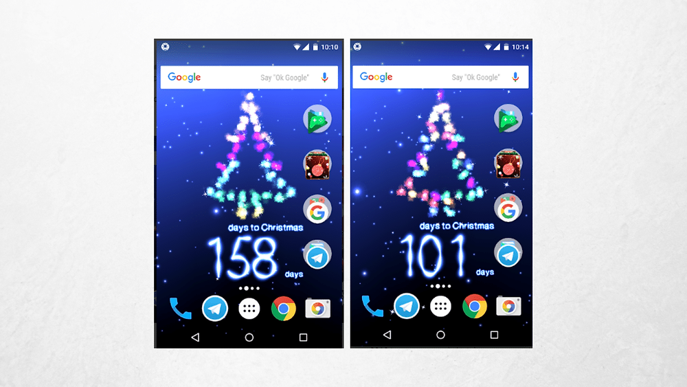 APP countdown to christmas on starblog