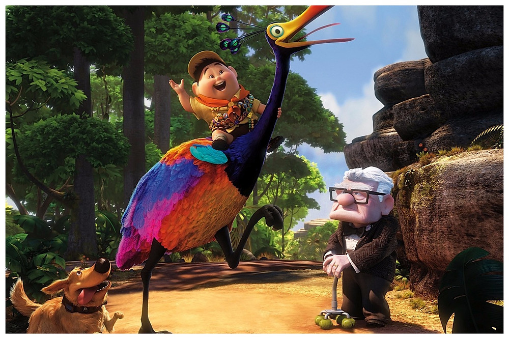 (Image: Disney/share) Wallpaper Pixar's UP Animation Movie