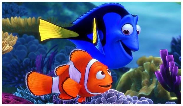 (imagem:Disney/Divulgação) Wallpaper procurando Nemo/cinema10.com.br