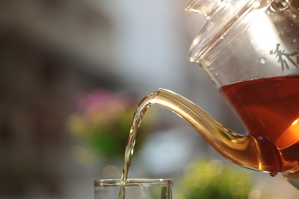 Startblog tea history
