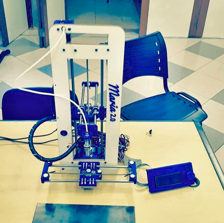 """""""Maria"""" 3D printer in honor of the mother"""