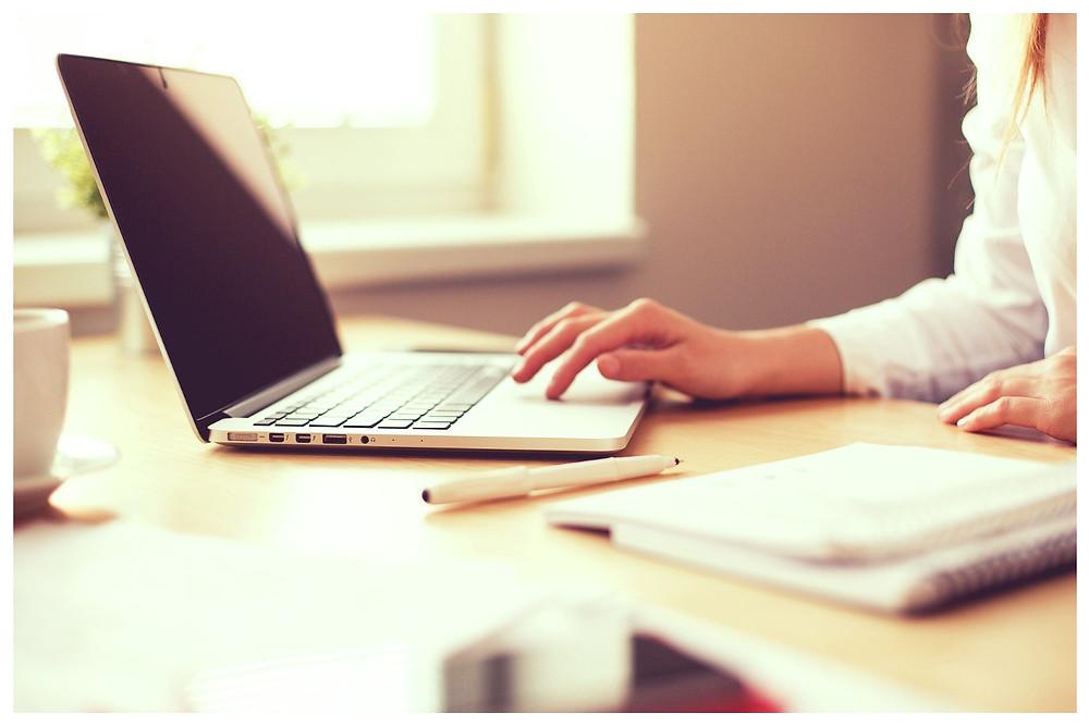 Home office on startblog