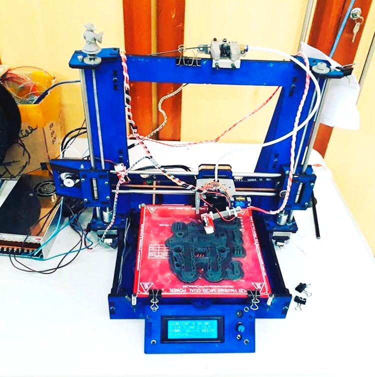 Extra! Brazilian launches 3D Printer in Morro do Alemão - startblog