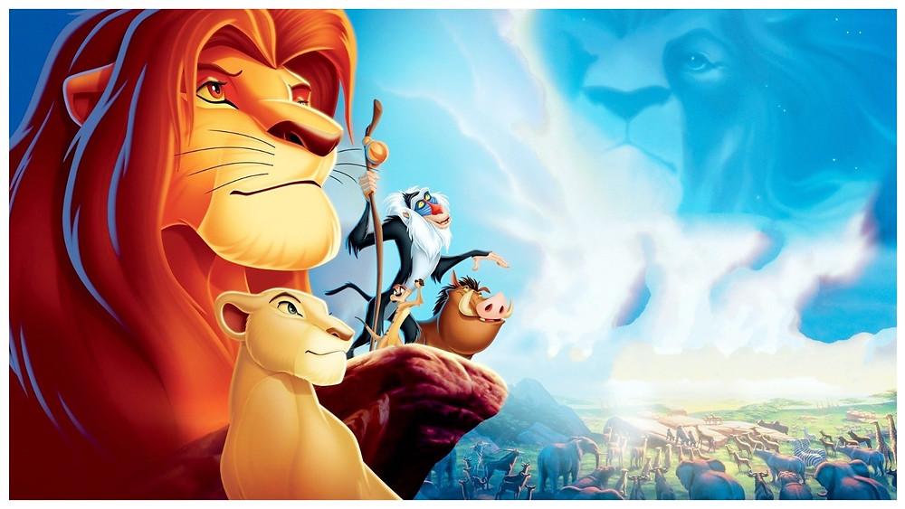 (Image:Disney/share) Wallpaper Pixar's the lion king