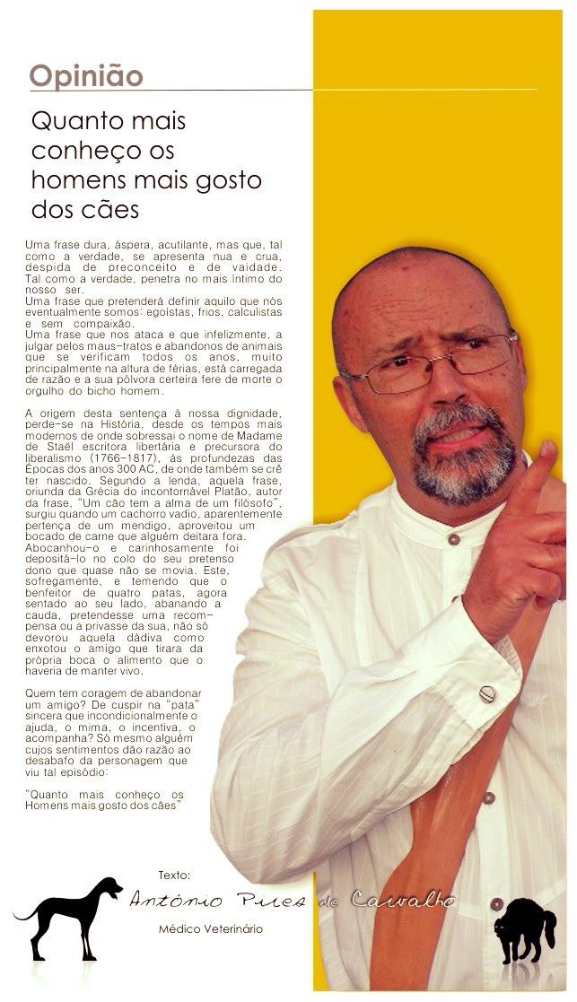 (Image of disclosure) António Pires de Carvalho