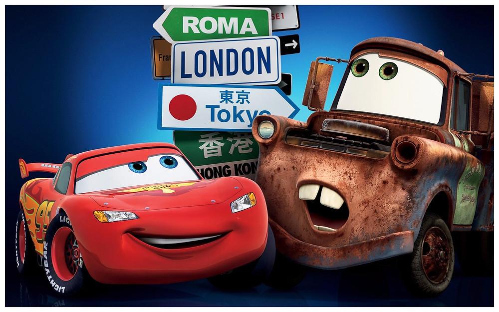 (Image: Disney/share) Wallpaper Pixar's cars