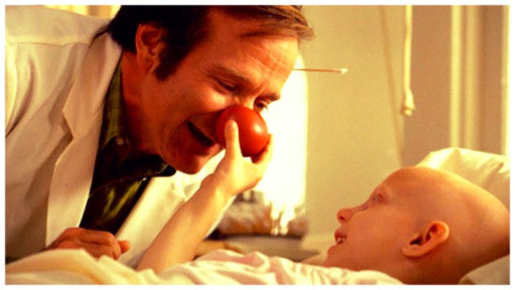 (image/disclosure) Robin Williams in the film love is contagious