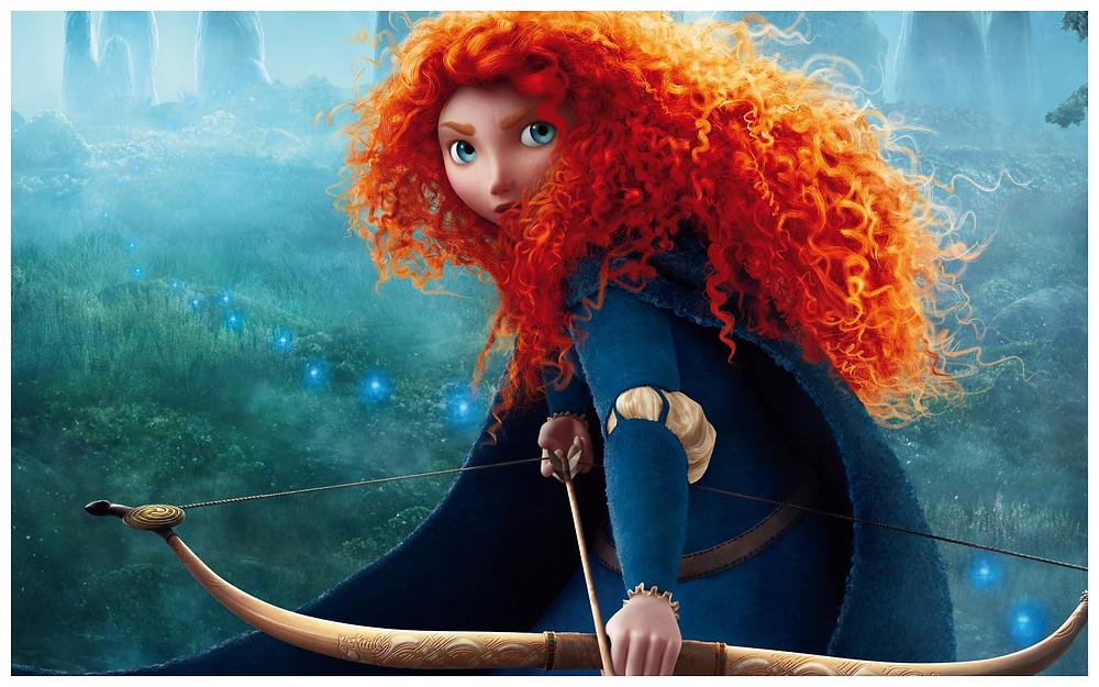 (Image:Disney/share) Wallpaper Pixar's brave's Princess Merida