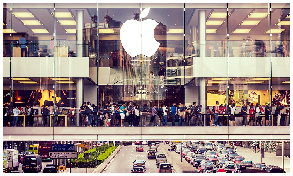 (Photo:/Disclosure) Store Apple Hong Kong - Startblog post