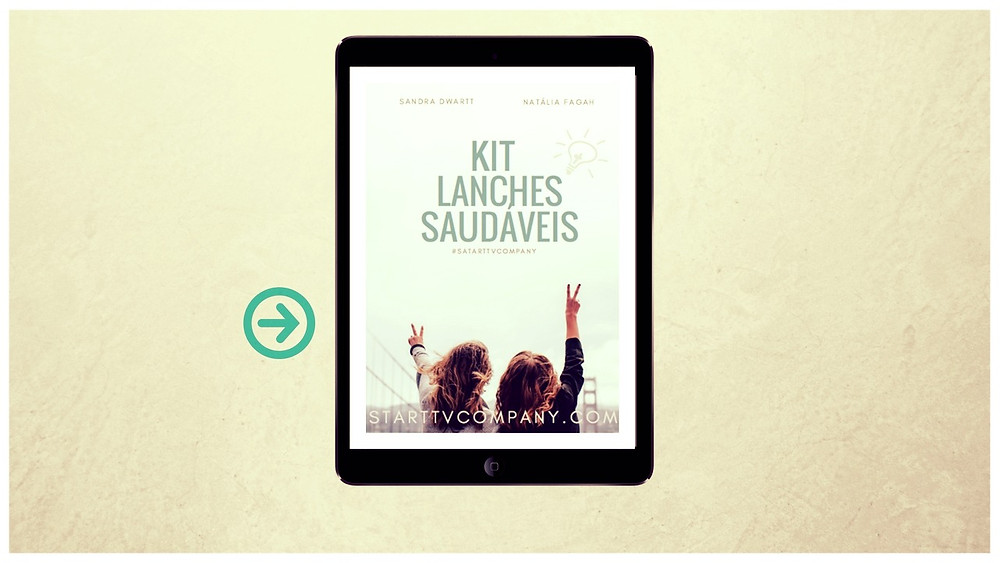 Apostilas Digitais - Kit Lanches Saudáveis
