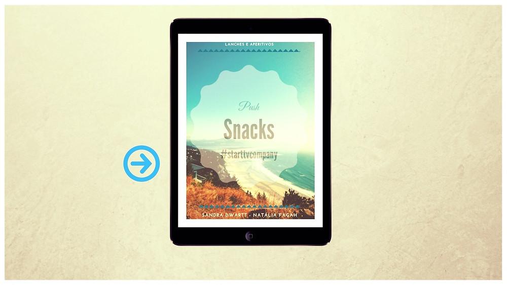 Trabalhar em casa - E-book Lanches & aperitivos Push