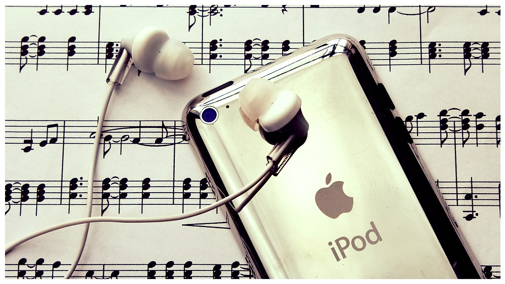 (image / photo / disclosure) Ipod - Startblog post