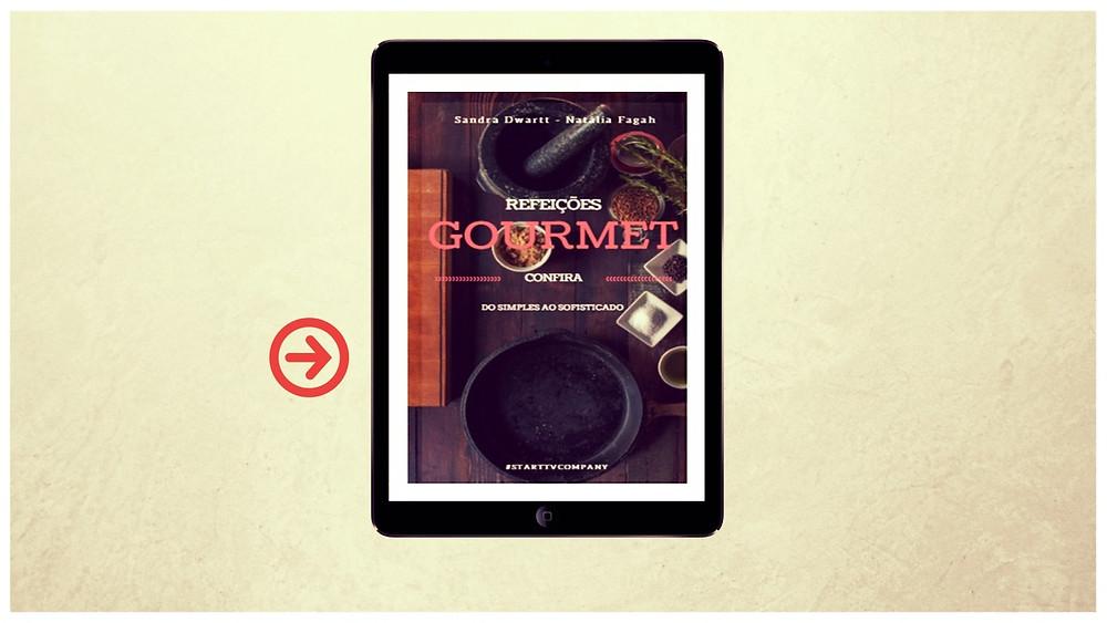Trabalhar em casa - E-book Refeições Gourmet