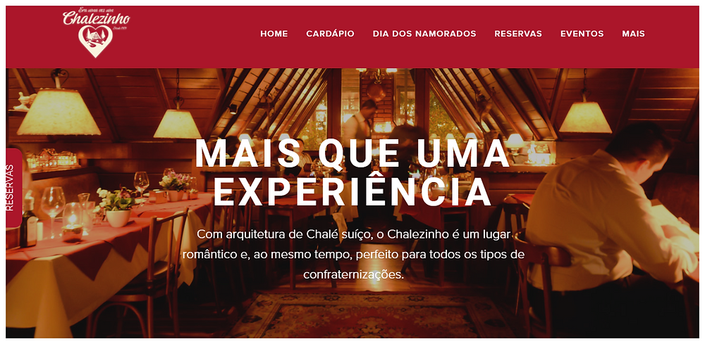 Chalézinho Startblog Dining Tips