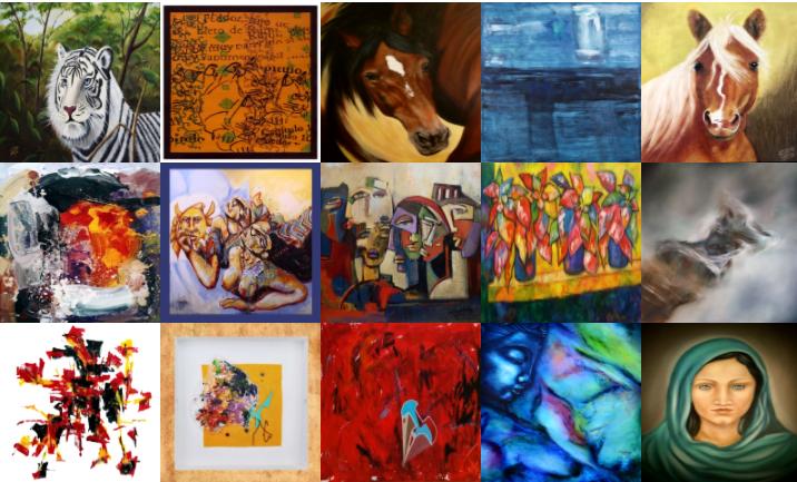 Imagem de divulgação de artistas recomendados pela estimarte: www.estimarte.com.br