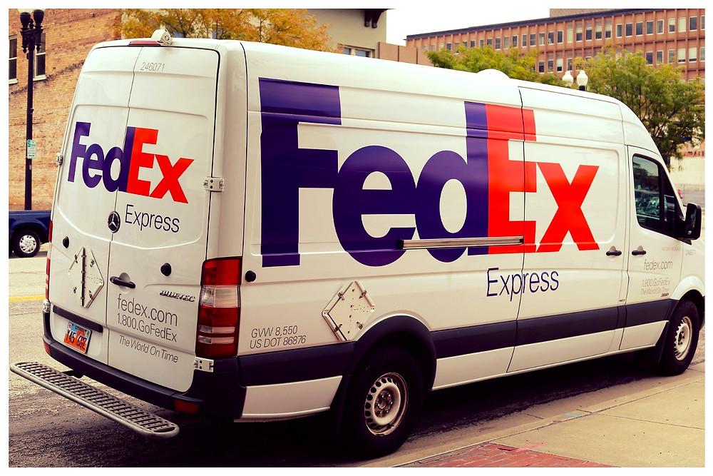 História da  FedEx no startblog