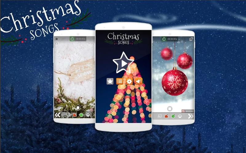 Aplicativo de canções natalinas no startblog