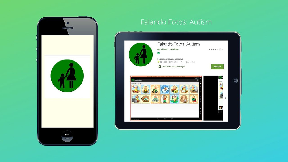 Apps suggestions for autists on startblog: 4 - Speaking Photos: Autism