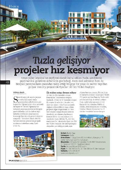 İnşaat ve Yatırım Dergisi, 2012