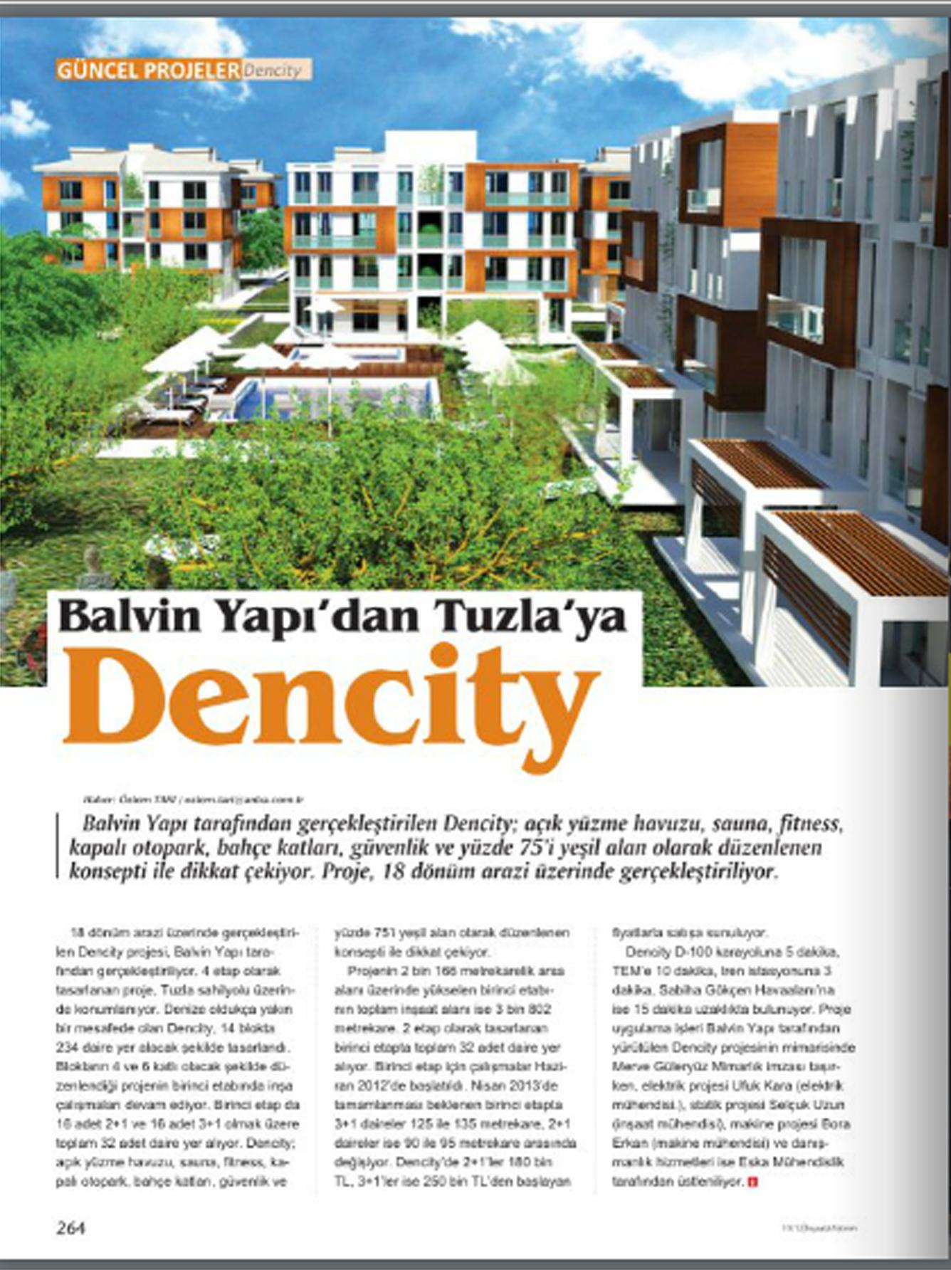 Emlak Rotası Dergisi,2012