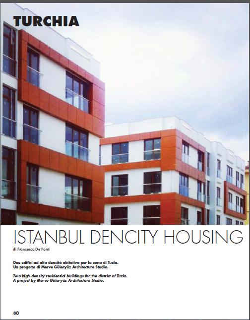 DDN İtalyan Mimarlık Dergisi, 2013