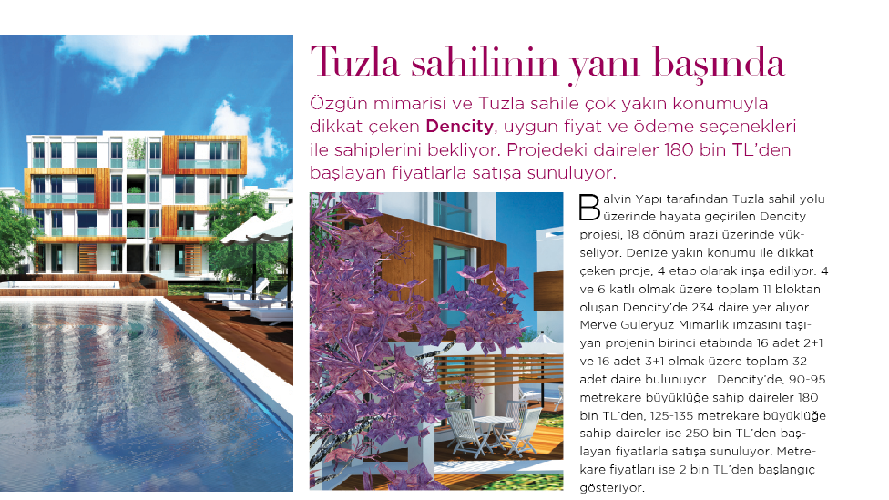 Exclusive Homes Dergisi, 2012