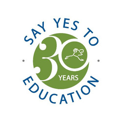 say yes to education logo