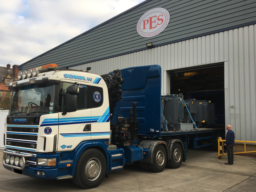PES are continuing to support the High Voltage Industry in the run up to Christmas!