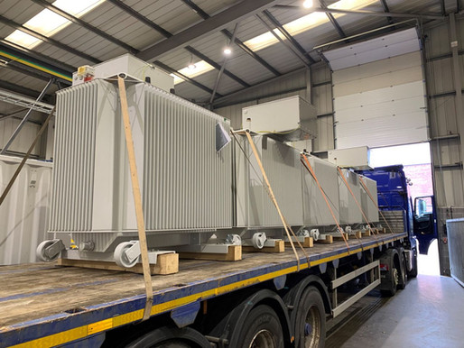 24 x New Transformers for Stored Energy Site