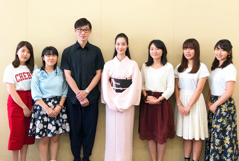 演出家 生田大和氏と講演(明治大学)