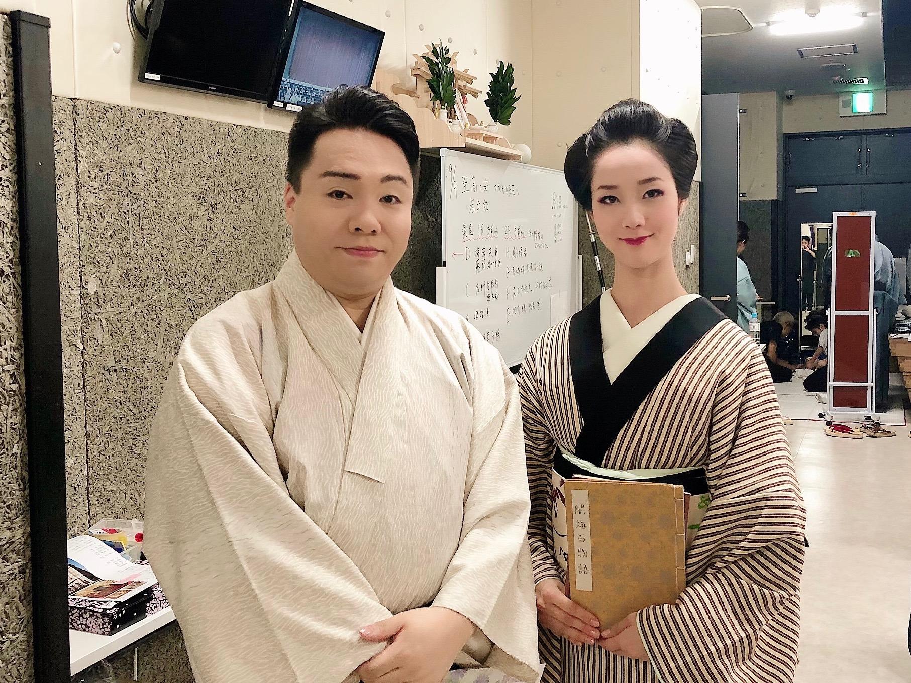 2019.9.10 『至高の華』藤間勘十郎先生と