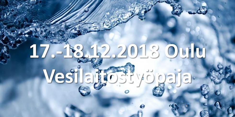 Vesilaitostyöpaja Oulussa 17.-18.12.2018