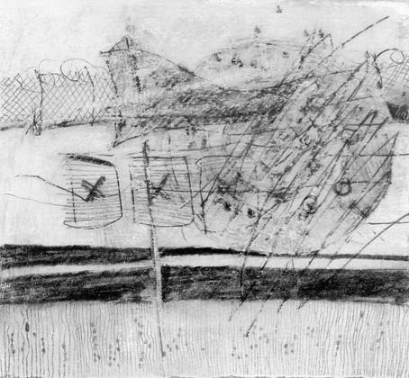 Pru's drawing: 'The Range'